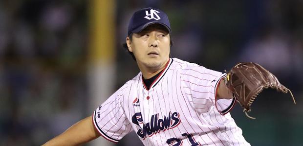 松岡健一 東京ヤクルトスワローズ 投手