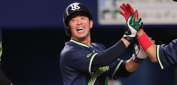 雄平 東京ヤクルトスワローズ 外野手