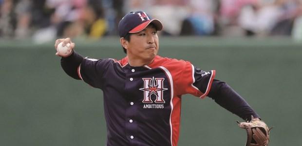 新垣勇人 北海道日本ハムファイターズ 投手