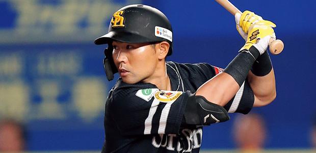 中村晃 福岡ソフトバンクホークス 外野手