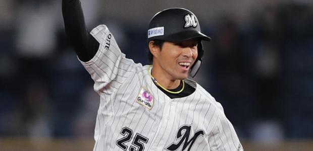岡大海 北海道日本ハムファイターズ 外野手