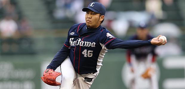 中崎雄太  投手