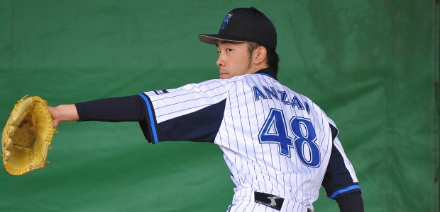 安斉雄虎  投手