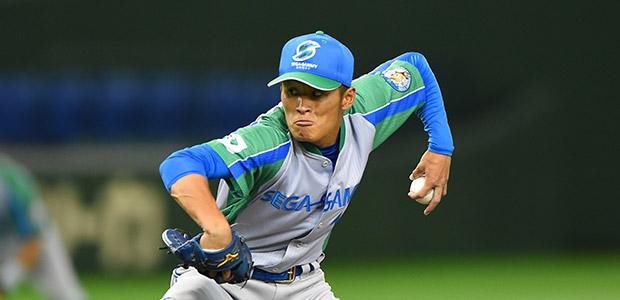 横田哲 セガサミー 投手