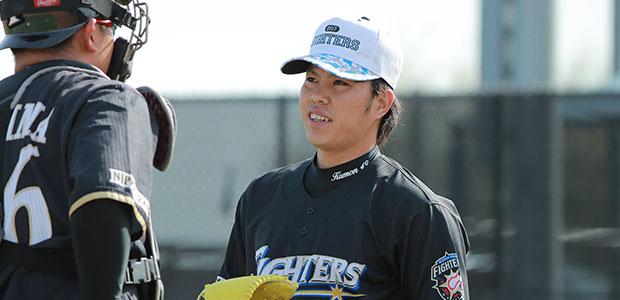 公文克彦 北海道日本ハムファイターズ 投手