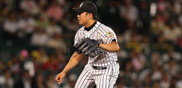 歳内宏明 阪神タイガース 投手