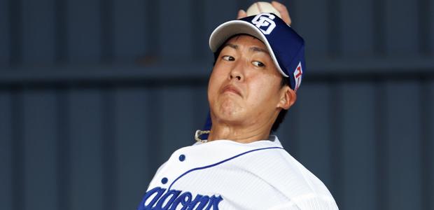 梅津晃大 中日ドラゴンズ 投手