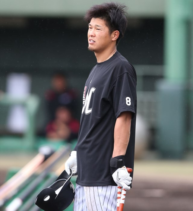 """ロッテ・中村奨吾 覚悟と""""8""""を背負って「ミスを取り返すことはもうできない。そう思ったら逆に吹っ切ることができました」"""